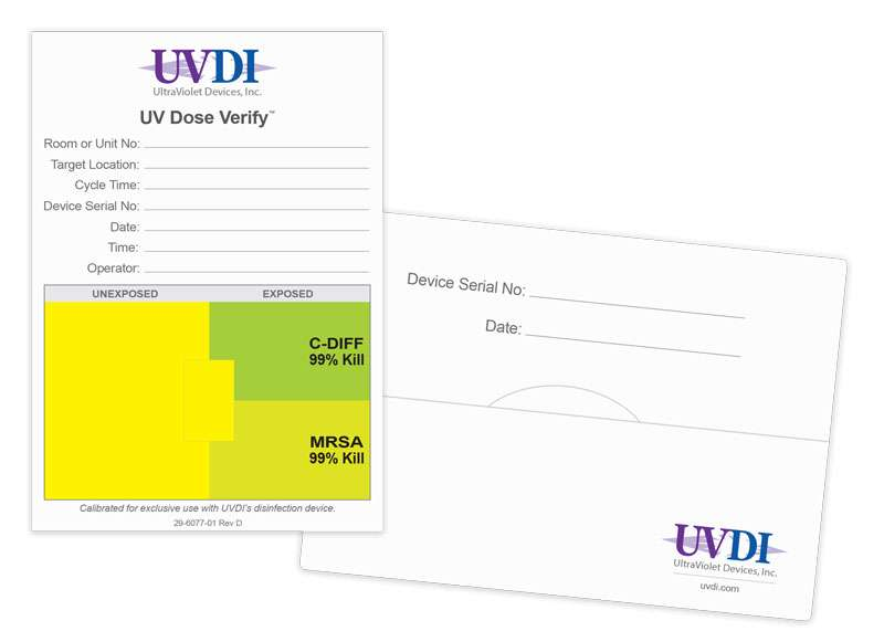 UV Dose Verify