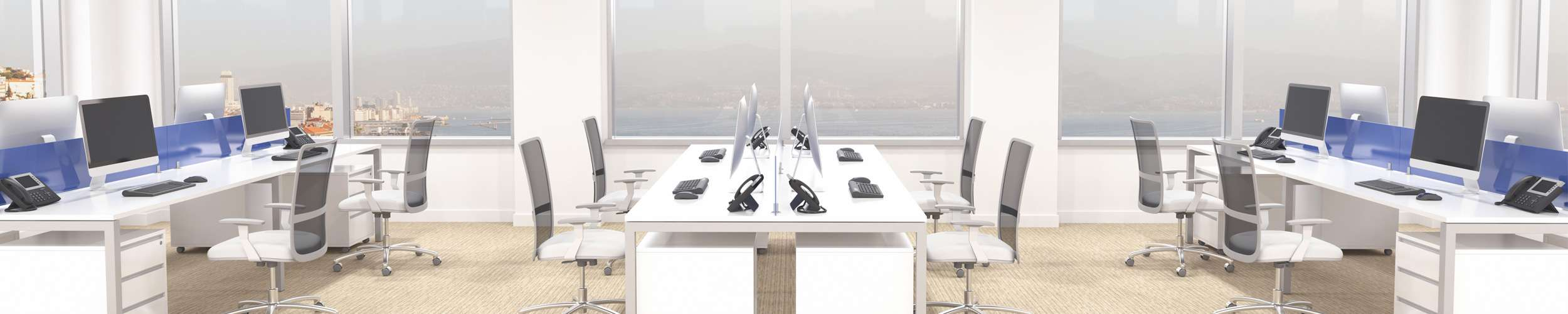 Office with Workstations